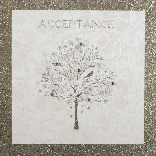 """ Acceptance "" Handmade Greeting Card - BHM5 FIVE DOLLAR SHAKE"