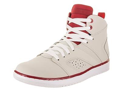 9f61efc27fef Jordan Flight Legend Light Bone White-Gym Red-White (9 D(