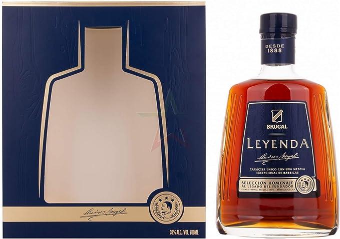 Brugal LEYENDA Selección Homenaje 38% - 700 ml in Giftbox