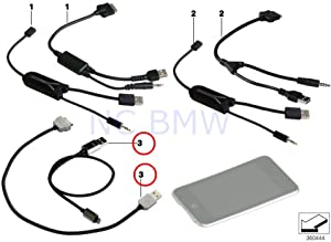 BMW Genuine Usb Adapter For Apple Ipod/Iphone