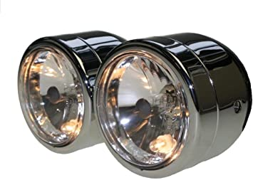 Doppel Scheinwerfer Chrom Mit E Nummer H7 H4 55 60w Für Honda Cb 600 Cb 900 Hornet Cb600 Cb900 Auto