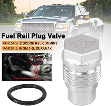 Race Fuel Plug FITS 07.5 and up Dodge 6.7L Cummins Diesel Pickup