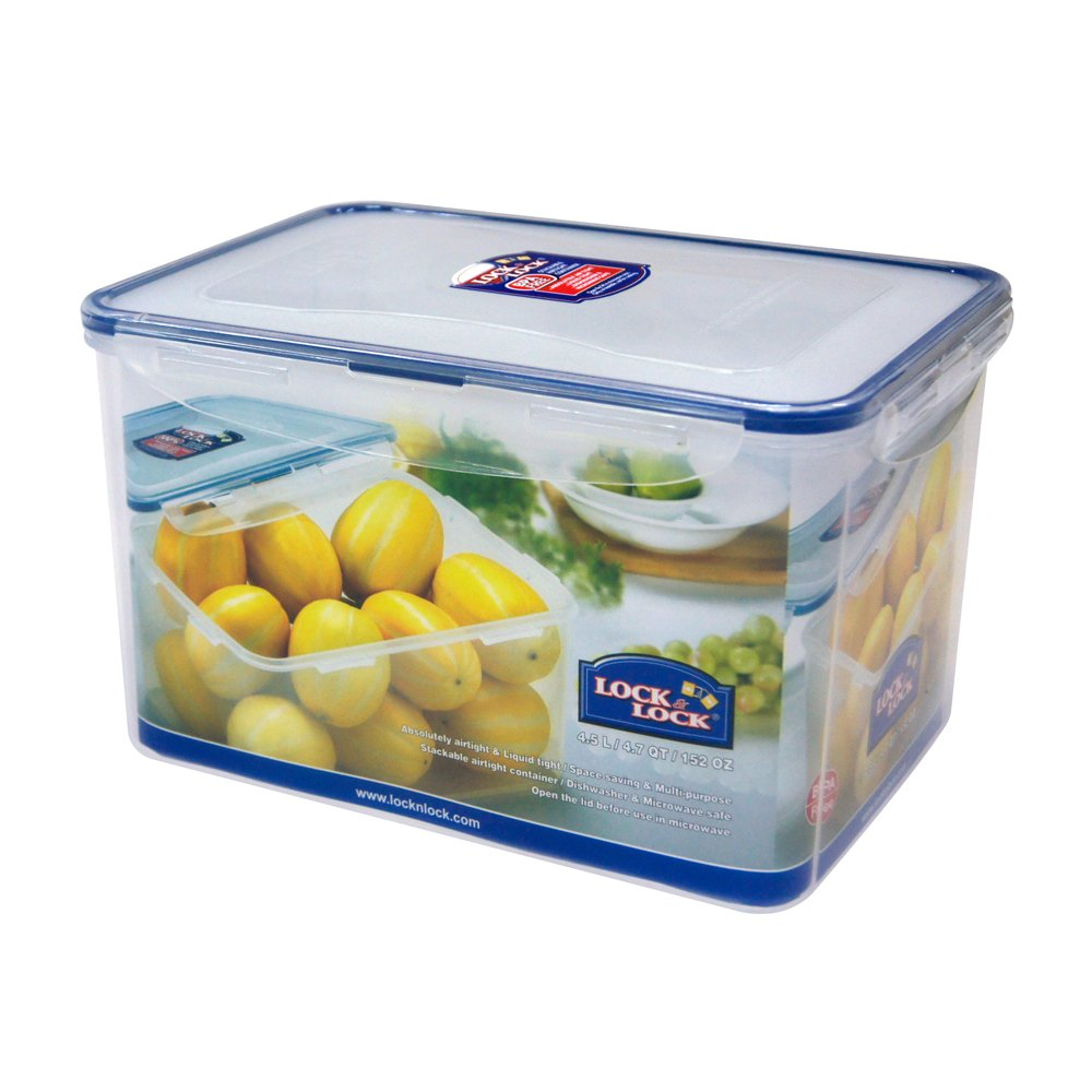 Airtight Rectangular Tall Food Storage Container Travel Containers
