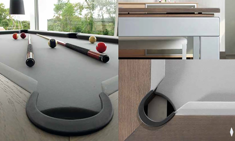 Amazon.com : Fusion Pool Table And Dining Table : Convertible Pool Table :  Sports U0026 Outdoors