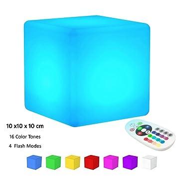 Keeda clairage DAmbiance LampeLampe DAmbiance Cube Lumineuse