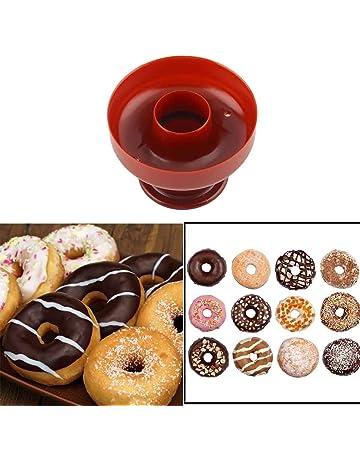 Donut Maker, moldes de plástico Donut Antiadherente Bandeja de horneado Segura Caker Pan for Cake