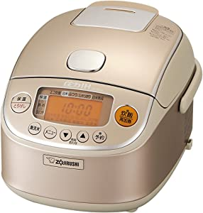 Zojirushi IH pressure rice cooker - 3 people champagne gold NP-RK05-NZ