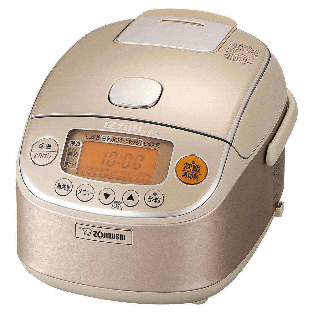 象印 炊飯器 3合 圧力IH式 極め炊き シャンパンゴールド NP-RK05-NZ  シャンパンゴールド B01AN17MGU