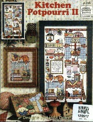 Kitchen Potpourri II (Jeremiah Junction Classics #JL235 cross stitch patterns)