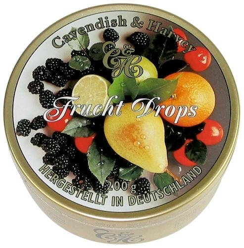 Cavendish and Harvey Mixed Fruit Drops 200g (200g Gift)