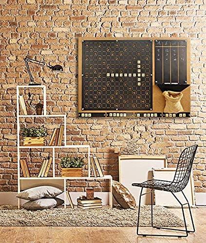 Tubibu Juego de Scrabble de Pared único, Regalo extraordinario, decoración de Pared, Arte de Pared: Amazon.es: Hogar