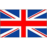 Militaria St Andrews Flag 5 x 3 Ft Flag Poles Or Windsocks Poles Comes With Free Ball Ties