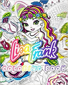 Amazon.com: Lisa Frank Coloring Books : Coloring Books: stress ...