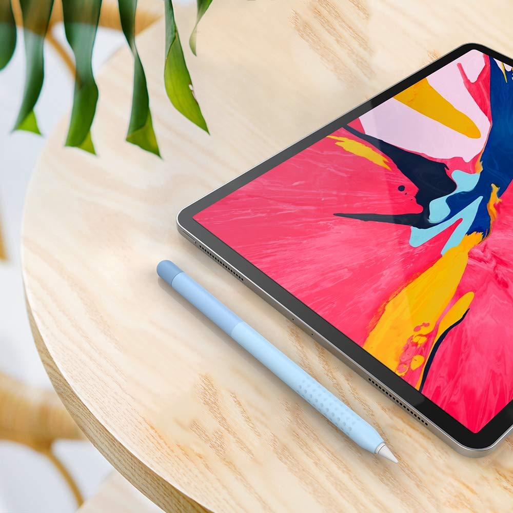 Gradient Blue Delidigi Gradient Color iPencil Case Sleeve Silicone Cover Accessories Compatible with Apple Pencil 2nd Generation