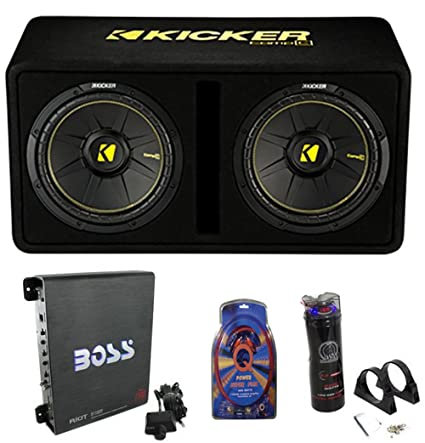 Amazon kicker 44dcwc122 12 1200w car subwoofers sub enclosure kicker 44dcwc122 12quot 1200w car subwoofers sub enclosure amp capacitor wire keyboard keysfo Image collections