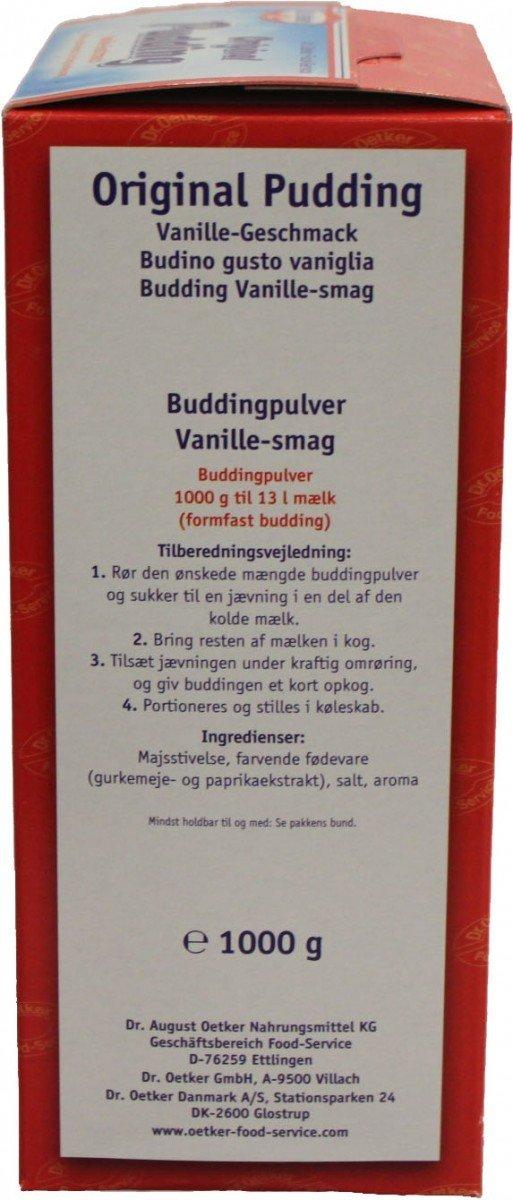Amazon Com Dr Oetker Pudding Vanille Geschmack 1kg Grocery