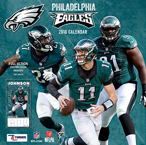 NFL Philadelphia Eagles 2018 Wall Calendar