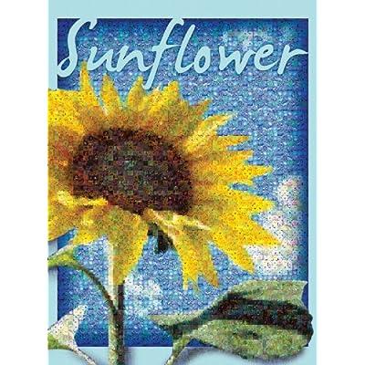 Buffalo Games Photomosaic Sunflower 1000pc Jigsaw Puzzle