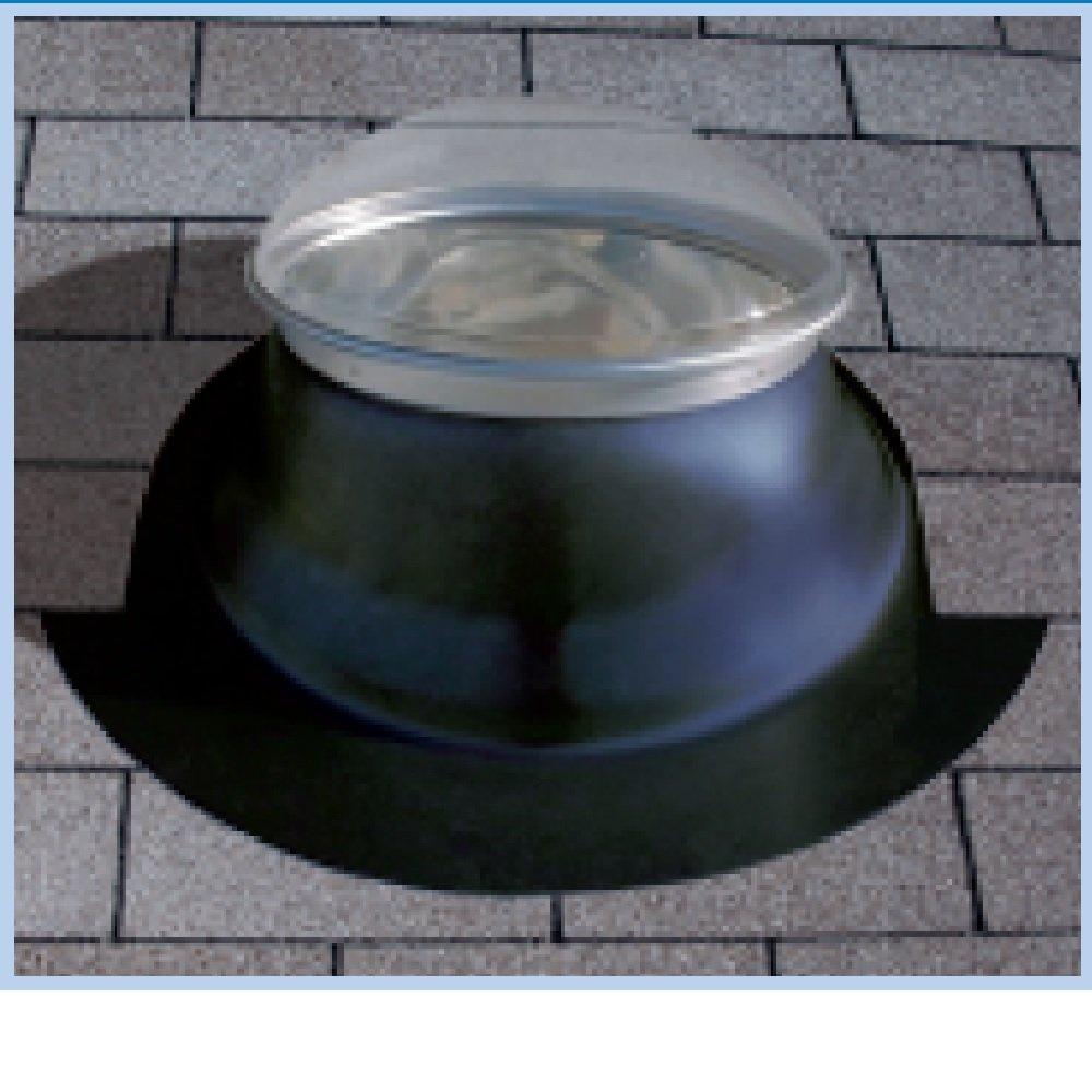 Natural Light Energy System 10KPBPSS 10'' Tubular Skylight Kit Pitched Bronze by Natural Light Energy Systems
