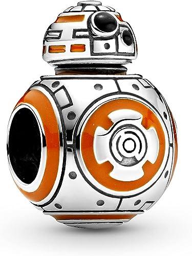 PANDORA Star Wars, BB-8, Black & Orange Charm