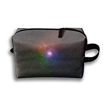 69d3b7fb8ca9 Amazon.com : Travel Makeup Space Colorful Stars Universe Galaxy ...