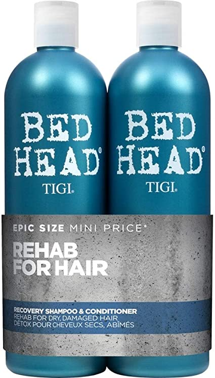 Oferta amazon: TIGI Bed Head Urban Antidotes Recovery Shampoo and Conditioner for Dry Hair 2x750ml