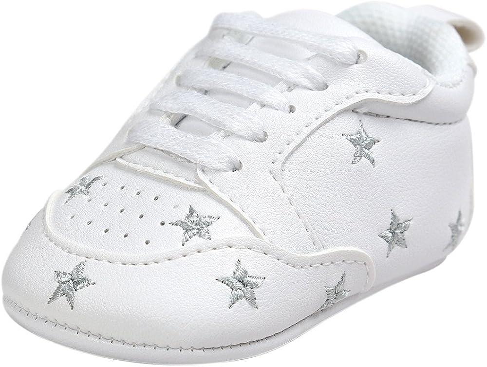 YanHoo Correas de Cinco Puntas Bordadas para niños pequeños Bebé de Cinco Puntas Estrella Vendaje Zapatos de Suela Suave Zapatillas de Deporte de niño Zapatos Ocasionales: Amazon.es: Ropa y accesorios