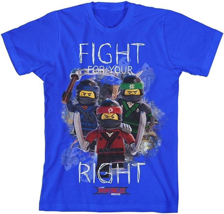 Ninjago Big Boys Ninja Fight Tee