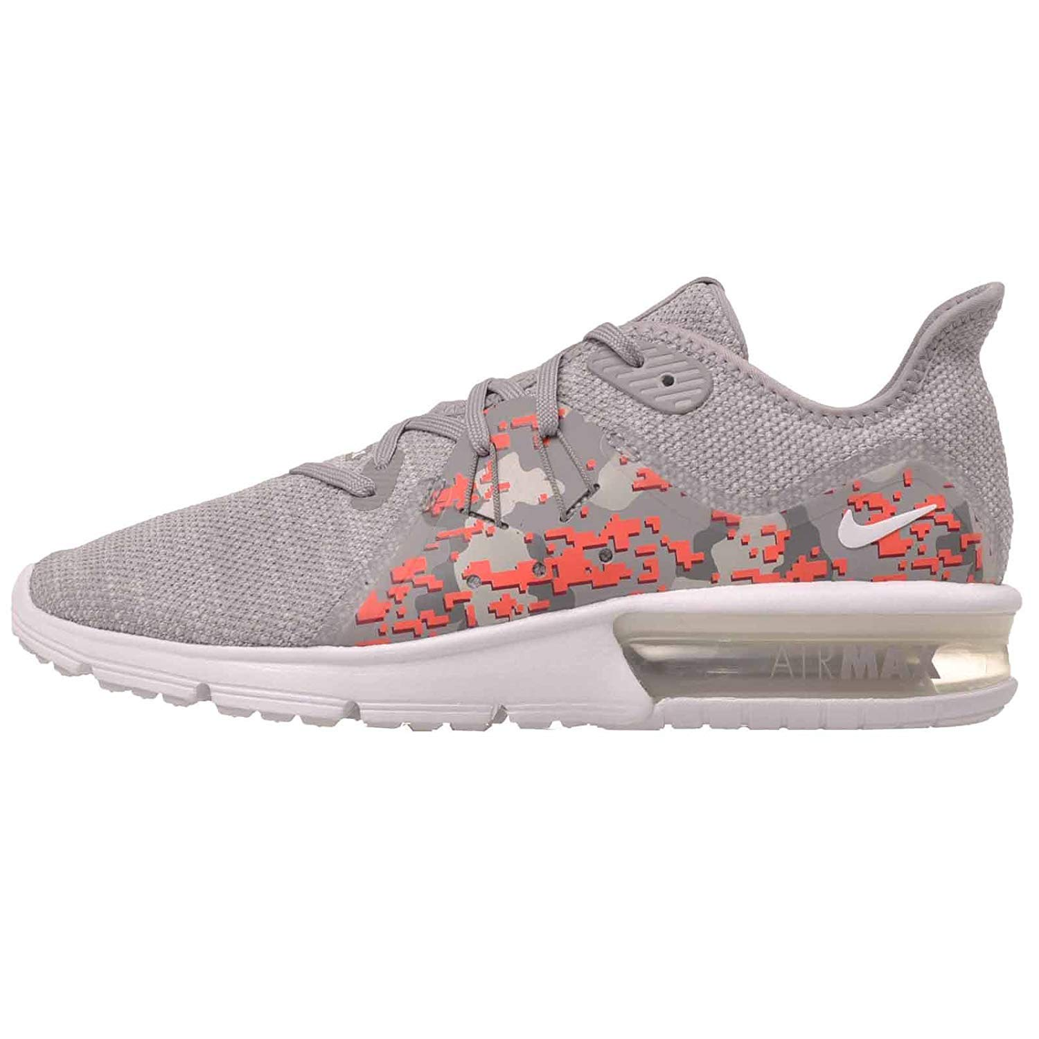 new product 580d4 a3643 Galleon - NIKE Women s Air Max Sequent 3 C Running Shoes-White Vast Grey-10