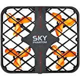 Happycow 777-382 360 Degree Roll Mesh 6-axis Gyro Sky Phantom RC Quadcopter RTF 2.4GHz gifts drone