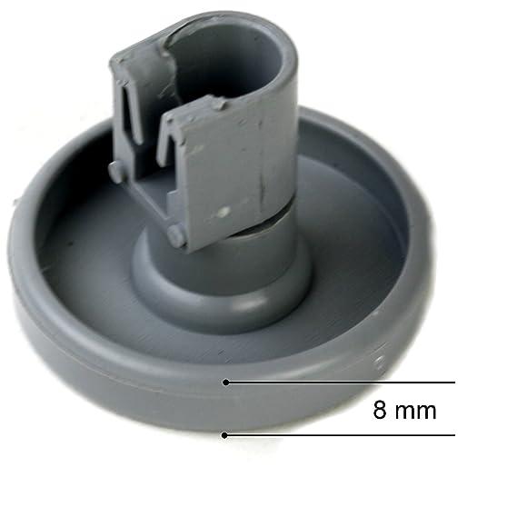 8 Korbrollen Unterkorb Unten Rollen Rader Spulmaschine