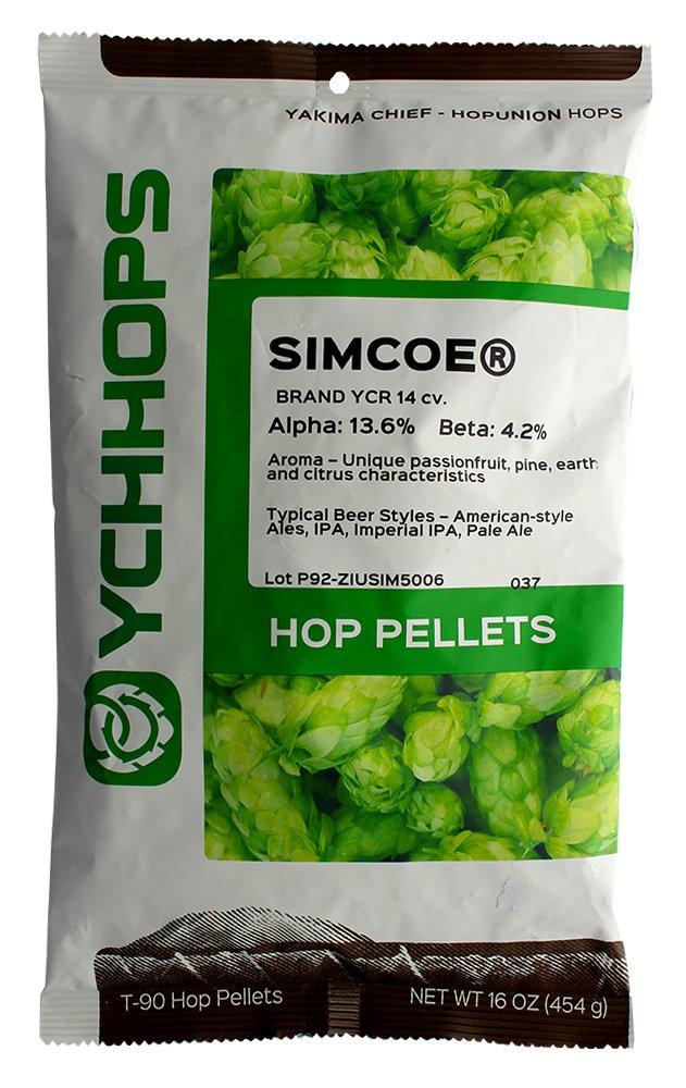 HopUnion Simcoe Hop Pellets 1 lb.