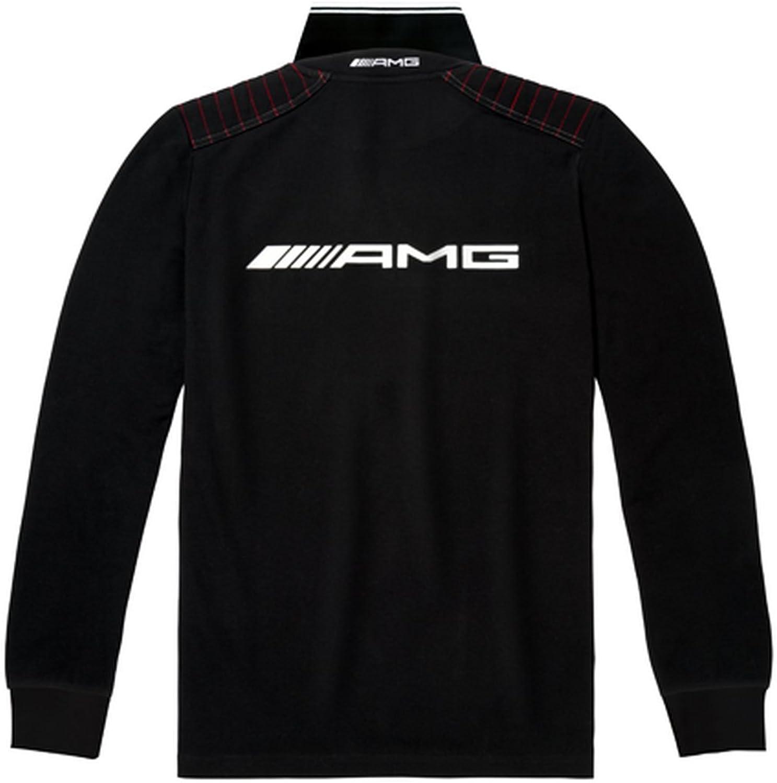 Mercedes-Benz, camiseta polo, manga larga, para hombre, negro ...