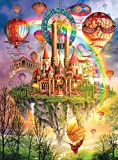 hot air balloon puzzle - Holographic Puzzle Above the Clouds 1000 Piece