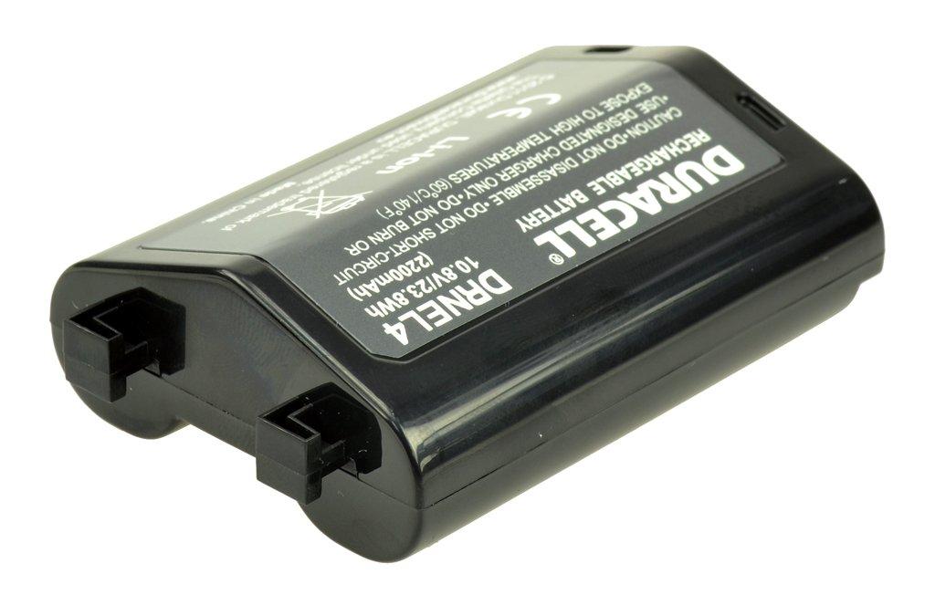 Duracell Li-ion batería 2200mah para Nikon en-el4//en-el4a