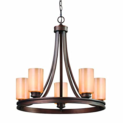 golden lighting chandelier. Golden Lighting 1051-5 SBZ Hidalgo 5 Light Chandelier, Sovereign Bronze Finish Chandelier A