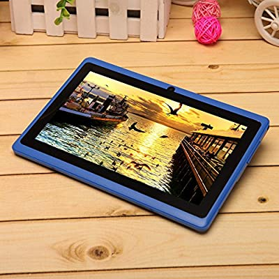 iRulu X1s HD TFT Display, 4*1.5GHZ Quad core, 7 inch Google Android 4.4 Tablet, Dual Camera, Google Play Pre-load, 8GB Storage,Multi-colors