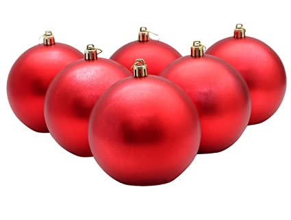 Christmas Ball Ornaments,Funpa 6 Pack 4 Inch for Xmas Decoration - Amazon.com: Christmas Ball Ornaments,Funpa 6 Pack 4 Inch For Xmas