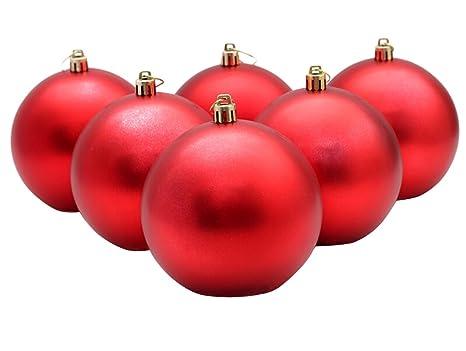 sports shoes 1da35 5e957 Funpa Christmas Ball Ornaments, 6 Pack 4 Inch for Xmas Decoration