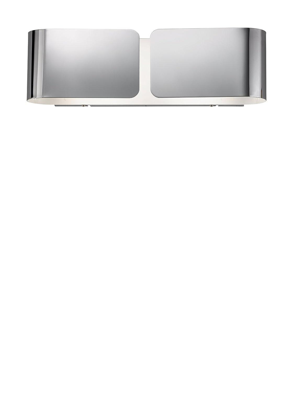 Ideal Lux Clip AP2 Small Cromo Lampada da Parete E27