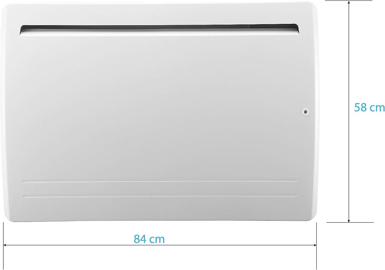 Radiador de cerámica resistente – calor suave – 2000 W – Detector de presencia – Color blanco