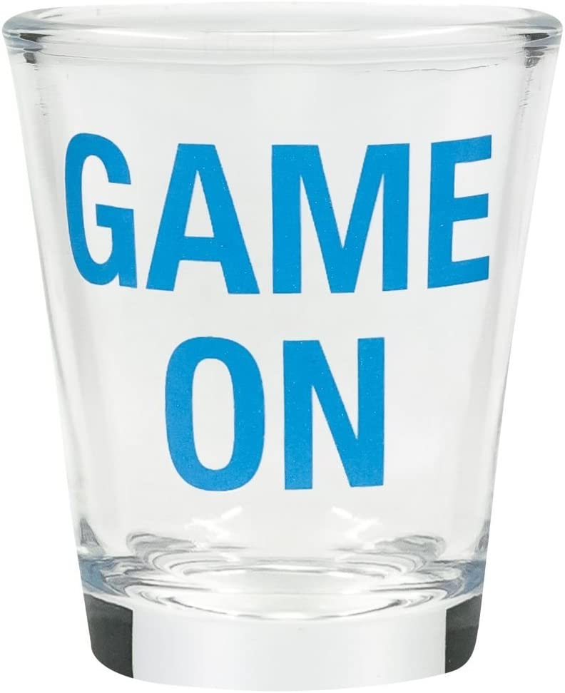 Clear Game On Shot Glasses About Face Designs Man Stuff 4 H