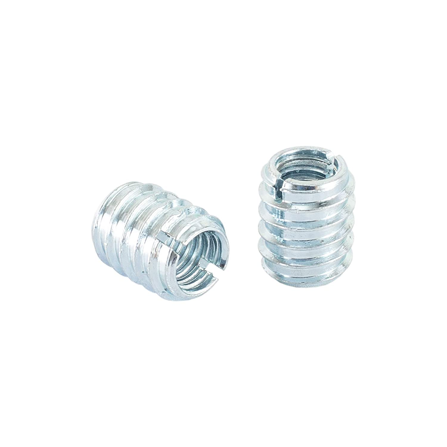 for Hard and Soft Wood and More Zinc Plated Screw-in Nut for