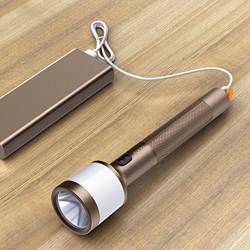 Lantern Flashlights 2-in-1 LED Nightlight Flashlight Combo 280 Lumens Aglaia Rechargeable Torch lights