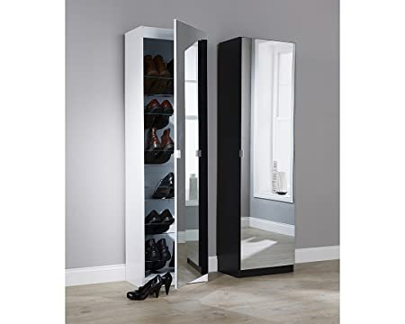 Groovy Gb Furniture Full Length Mirrored Style Shoe Cabinet Rack Download Free Architecture Designs Grimeyleaguecom