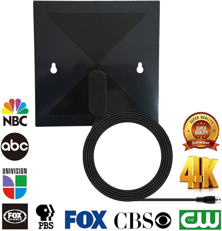 Nosii Antena Digital HD Clear Vision STB Funnel Receptor de satélite para Antena de Pared de televisión: Amazon.es: Hogar