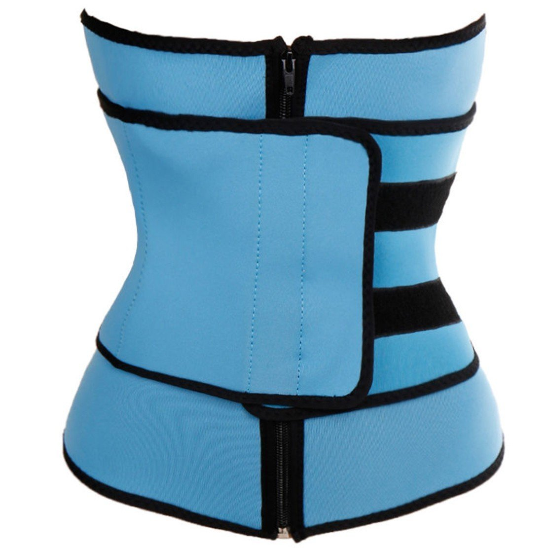 CROSS1946 Men's Waist Trainer Corsets Workout for Body Weight Loss Sweat Fitness Fat Burner Trimmer Back Support