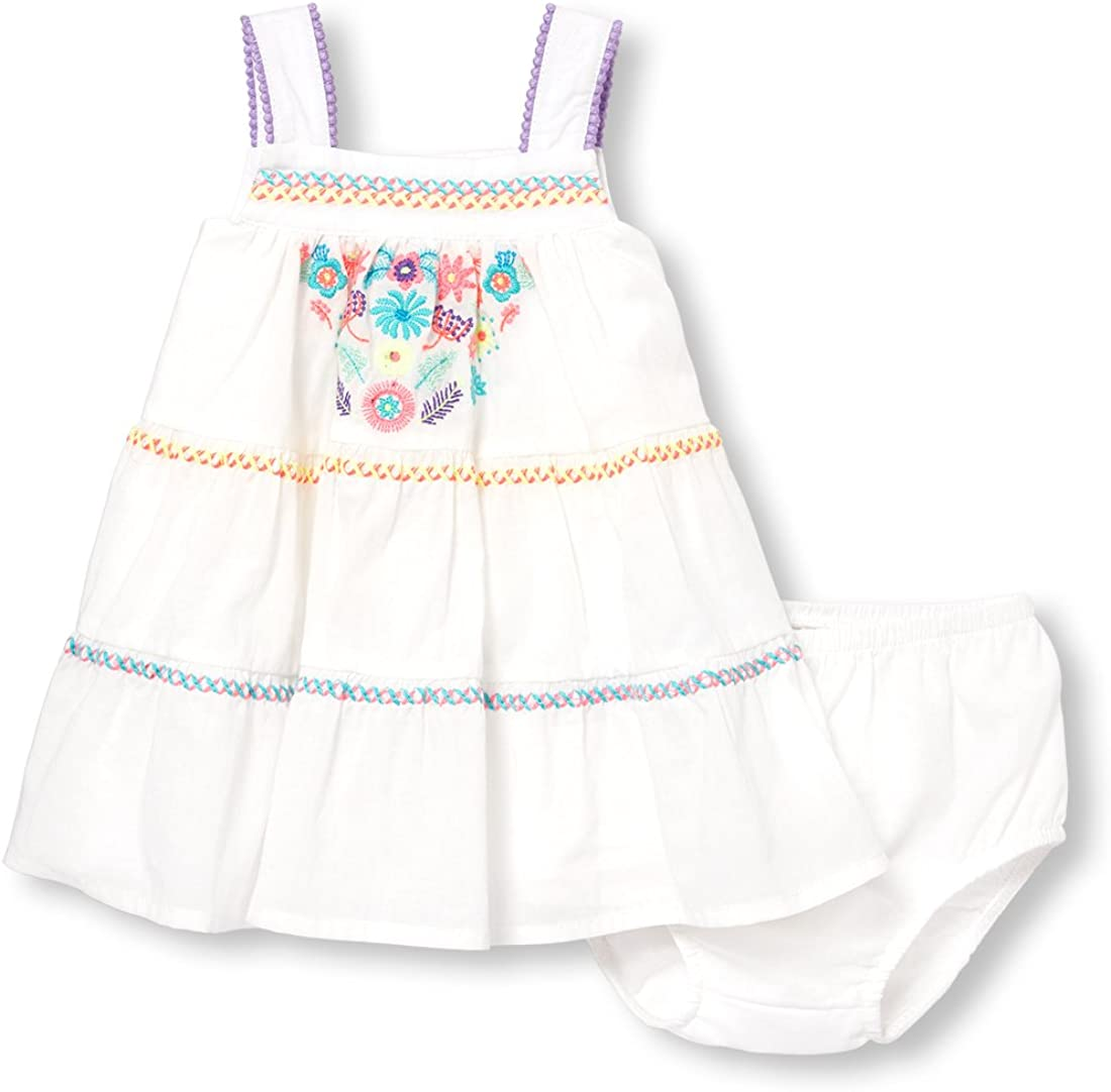 The Childrens Place Baby Girls Bloomer Dress Set