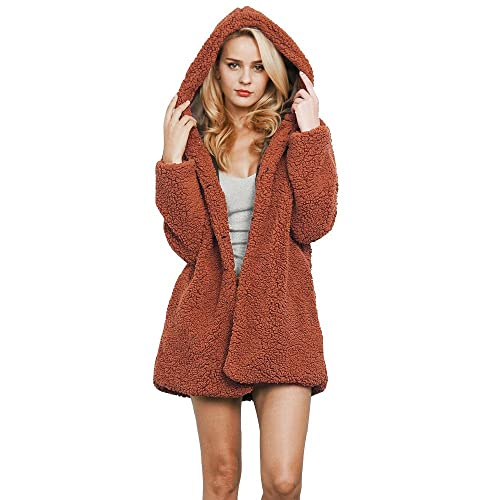 EUZeo_Women Coat - Abrigo - Moda - Manga Larga - para mujer