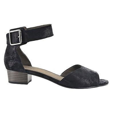 Sandales Sangle De Cheville De Mode, Noir, Une Taille Gabor